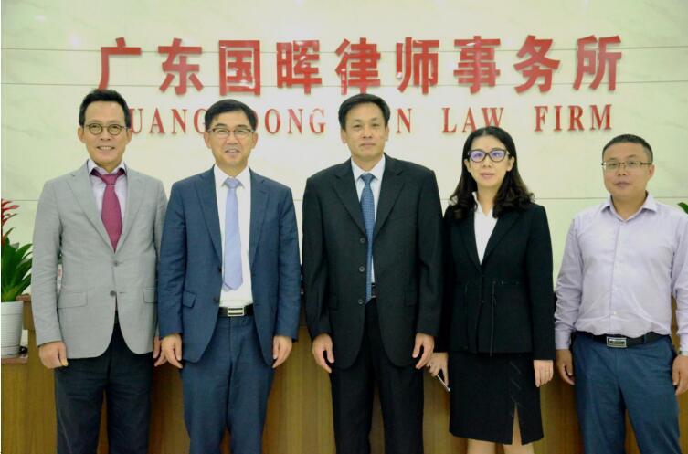 韩国世宗律师事务所律师访问我所